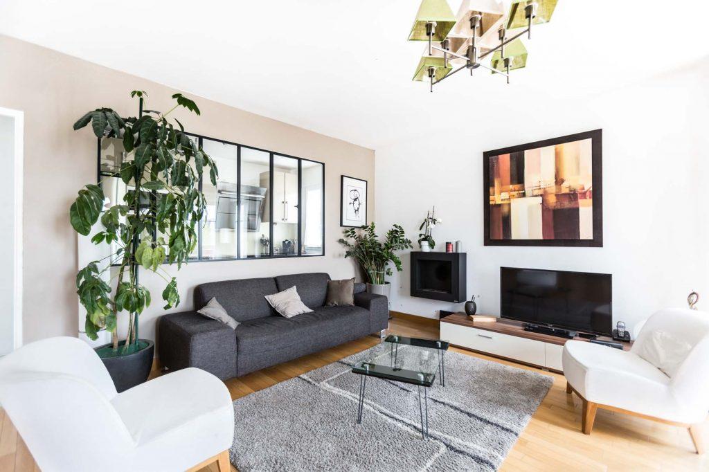 architecture intérieure, salle de séjour
