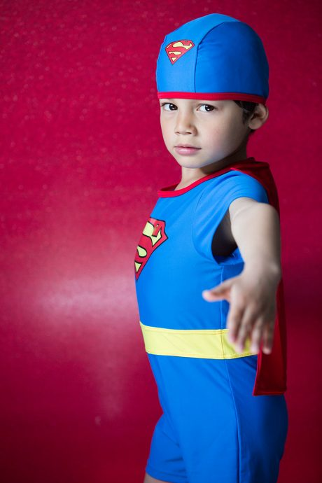 be A Child super man boy photo Yannick RIBEAUT