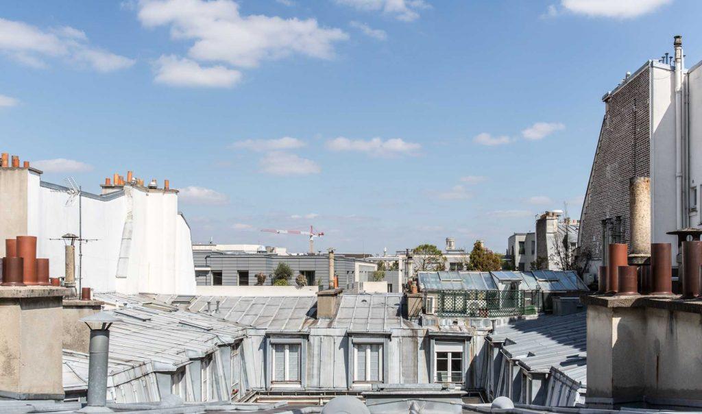 Architecture, toit, Paris