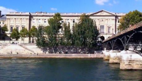 Pont des arts, île de la cité, tour Eiffel