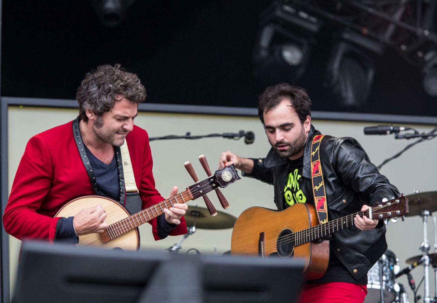 Matthieu et Joseph Chedid