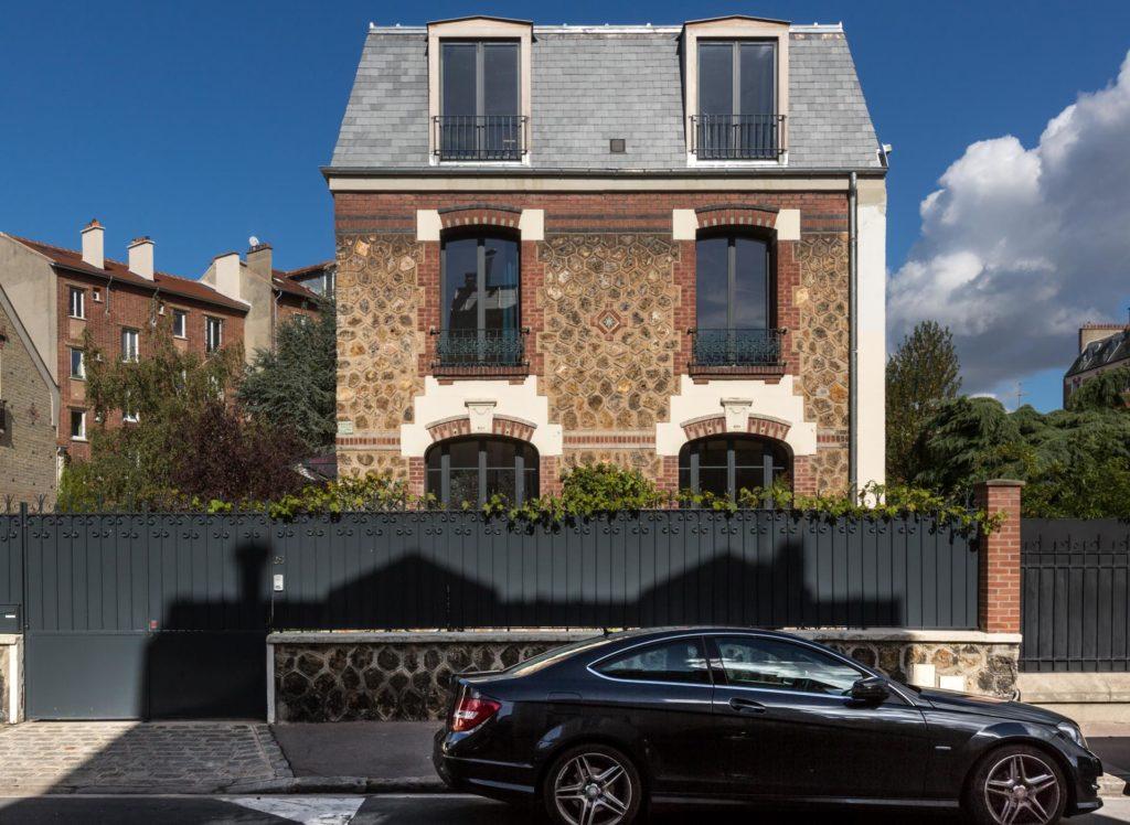 Photo façade extérieure maison